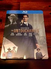 THE UNTOUCHABLES BLU RAY STEELBOOK - NEW/SEALED