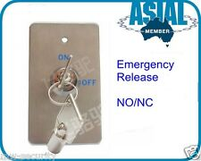 Emergency Door Release Key Normally Open/Nornally Closed Surface/Flush Mount
