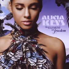 "ALICIA KEYS ""THE ELEMENT OF FREEDOM"" CD 14 TRACKS NEU"
