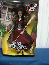 Barbie Wizard of Oz 50th Anniversary Witch of the East Silver Label New  Musical