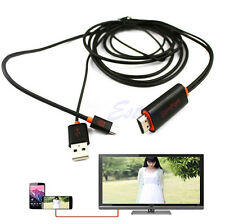 SlimPort To HDMI HDTV Adapter Connector w/USB For Google Nexus 4 5 7/ LG G3 G2