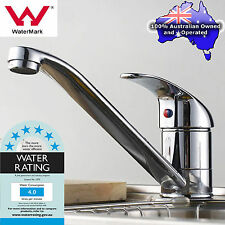 Kitchen Sink Basin Mixer Tap 360° Swivel Long Spout Brass Laundry Faucet Chrome