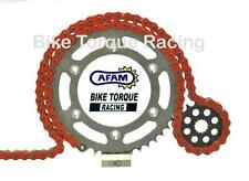 Yamaha XT660X 04-13 AFAM -6 Orange Chain & Sprocket Kit