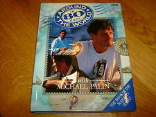 MICHAEL PALIN-AROUND THE WORLD IN 80 DAYS-SIGNED-1ST/1ST-1989-HB-NF/F-BBC-RARE
