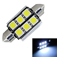 39MM 5050 6 SMD High Power Canbus Festoon Dome Car Interior LED Light bulb White