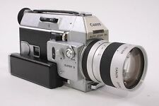 Canon Auto Zoom 814 Super-8 Movie Camera AS IS