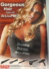 Magazine Print AD BeLiss Pro Hair Styling Tools at Sally Beauty Supply 011516