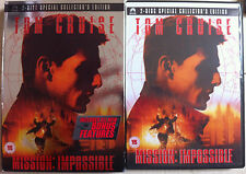 Crociera Del Tom Brian De Palma MISSION: IMPOSSIBLE 2-disco Spec Ed DVD w/Fodera