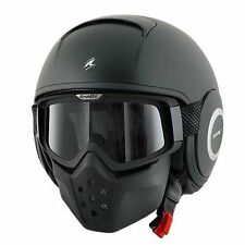 SHARK RAW Motorcycle Helmet Matte Black Size Medium m fast rogue bell Flat matt