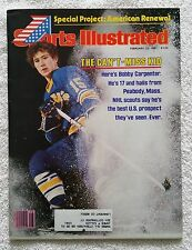 Sports Illustrated February 23, 1981; The Can't Miss Kid, Bobby Carpenter-RARE!!