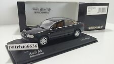 Minichamps 1/43 Audi A6 3.0 Saloon Black. 2001 Art. 430010200