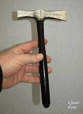 rarissime marteau d'honneur de pose de la 1ère pierre - église 1896