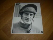 Tommy STACK Horse Racing Legend RED RUM Jockey Original Hand SIGNED Press Photo