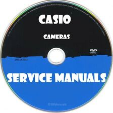 Casio Cameras Service Manuals- Latest PDFs on DVD- Huge Collection- SRManuals
