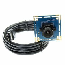 HD 1080P 2MP USB Camera Module Board CMOS 3.6mm Lens Support IR Cut Free Driver