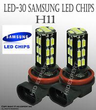 JDM 2 pcs H11 Samsung LED 30 SMD PureWhite 6000K Headlight Fog Light Bulbs A46R