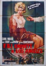 INTRIGUE IN LOS ANGELES French Grande movie poster 47x63 1964 GASPARRI Art