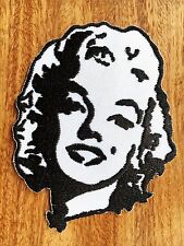 Malilin Monroll Sexy Actress embroidered iron on patches appliques New