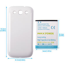 4500mAh Replacement Battery + Back Door Case Cover for Samsung Galaxy S3 I9300