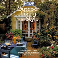 NEW - Home Magazine's Outdoor Living with Style by Plante, Ellen M.