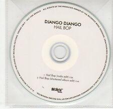 (EG357) Django Django, Hail Bop - 2012 DJ CD