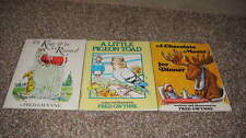 LOT 3 FRED GWYNNE BOOKS CHOCOLATE MOOSE LITTLE PIGEON TOAD KING WHO RAINED