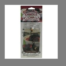 Pet Odor Exterminator Candle for the Car:Mulberry & Spice- Freshener