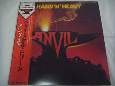 ANVIL-Hard 'N' Heavy JAPAN 1st.Press w/OBI Rush Iron Maiden Metallica Scorpions