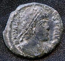 "Ancient Roman Coin "" Valens "" 364 - 378 A.D. Ref# Similar to S4017 18mm Diameter"