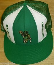 Boston Celtics Vintage 80s 90s Snapback Hat (LUCKY STRIPES) Brand New!! AJD NBA