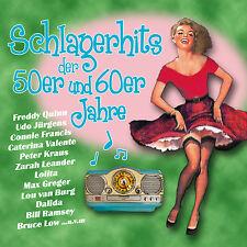 CD Schlagerhits Der 50er Und 60er Jahre von Diverse Interpreten 2CDs
