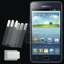 3x CLEAR PET Screen Protector for Samsung Galaxy S2 S 2 Plus i9105