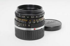 Leica M 35mm F2 Summicron Black Canada Early Lens 35/2                      #842