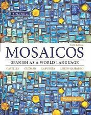 Mosaicos, Volume 2 with MySpanishLab with Pearson EText -- Access Card...