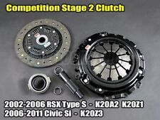 Competition Stage 2 Clutch Kit  02-06 RSX Type S / 06-11 Civic Si K20A2 K20Z1/3