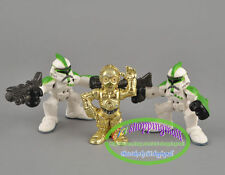 Hasbro Star Wars Galactic Heroes C-3PO Green Clone Trooper 3pcs Figures Toy