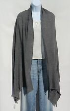 """100% Cashmere  Shawl Handloomed in Nepal """"Natural"""" Color Solid: Charcoal Gray"""