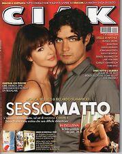 Rivista CIAK ANNO 2006  NUMERO 12 CON SCHEDE - BELLUCCI E SCAMARCIO, SESSOMATTO