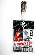 Batman Arkham Asylum Poison Ivy ID Badge Cosplay Props Costume Novelty Christmas