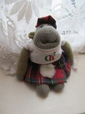 """PG Tips-Scottish Kilt OUTFIT ONLY for 7"""" Monkey -Gift Idea*Cats Protection*"""