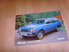 FOLLETO de auto 1979 Mazda 1400 Estate