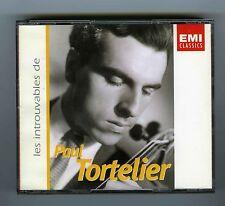 4 CDs PAUL TORTELIER LES INTROUVABLES