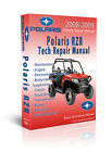 2008 2009 Polaris RZR RZR-S 800 EFI HO Service Manual CD ONLY - Bonus 2010 2011