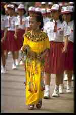 429020 Girl Independence Day Parade Rantepao Indonesia A4 Photo Print