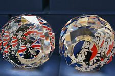 HALF PRICE NELSON & NAPOLEON SWAROVSKI CRYSTAL LIMITED EDITION PAPERWEIGHTS MIB