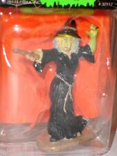 Halloween Spooky Town WITCH CASTING A SPELL Lemax New~Hocus Pocus!