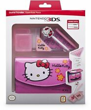 Nintendo 3DS HELLO KITTY Essentials Pack inc Case Stylus etc NEW 3DS DSi Version
