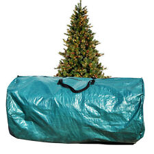 Large Artificial Christmas Tree Carry Storage Bag Holiday Clean Up 8' Green