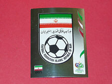 264 BADGE IRAN PANINI FOOTBALL GERMANY 2006 WM FIFA WORLD CUP COUPE DU MONDE