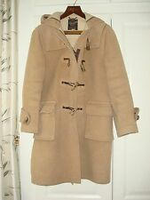 Women's Gloverall of London Original Dolomite Duffle Coat Made in England GB 36